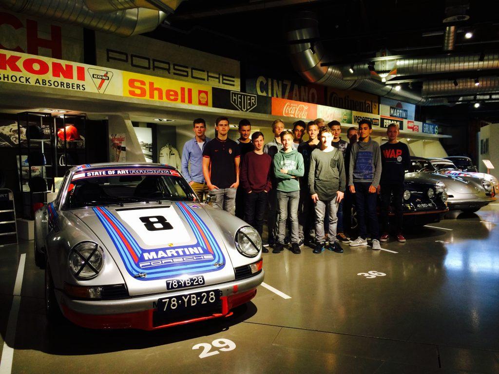 Excursie Porsche werkplaats State of Art