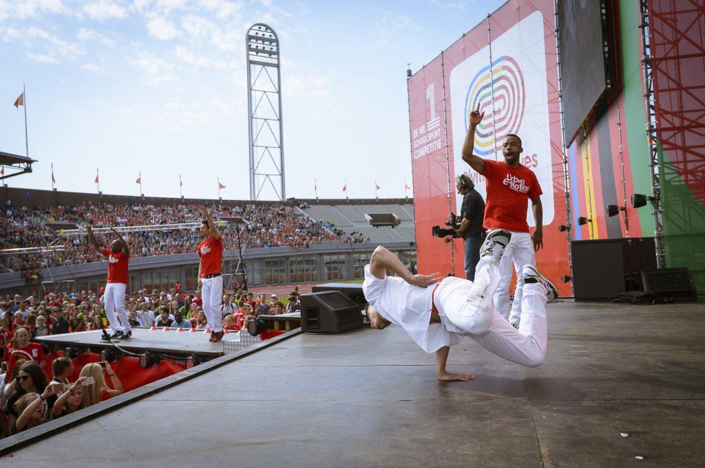 Marianum speelt mee met regionale finales Olympic Moves