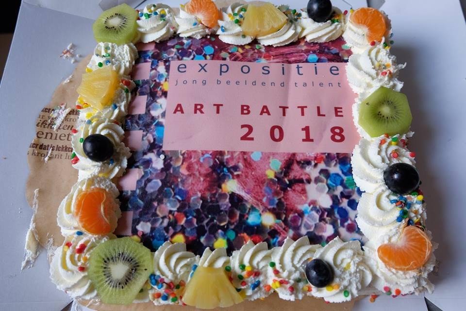 Winnaars Art Battle 2018