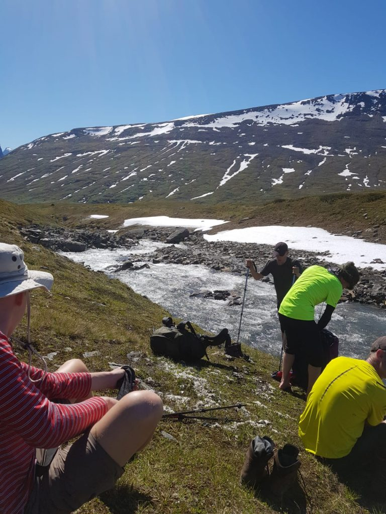 Leerlingen en docenten op expeditie in Lapland