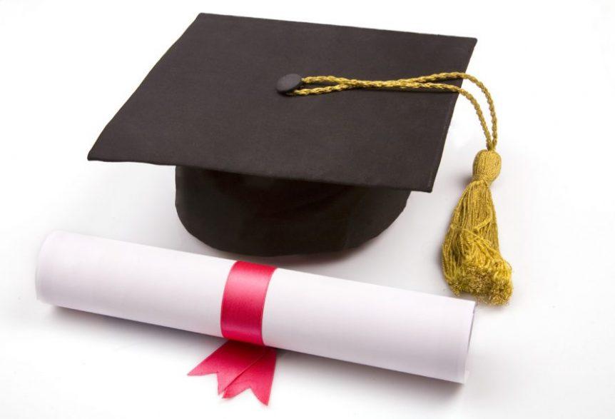 Diploma-uitreiking leerlingen Marianum