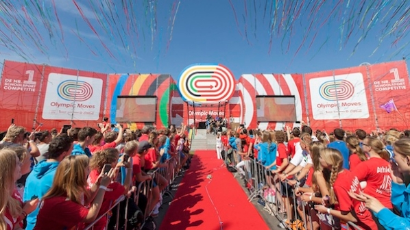 Olympic Moves – 200 leerlingen naar de regionale voorrondes