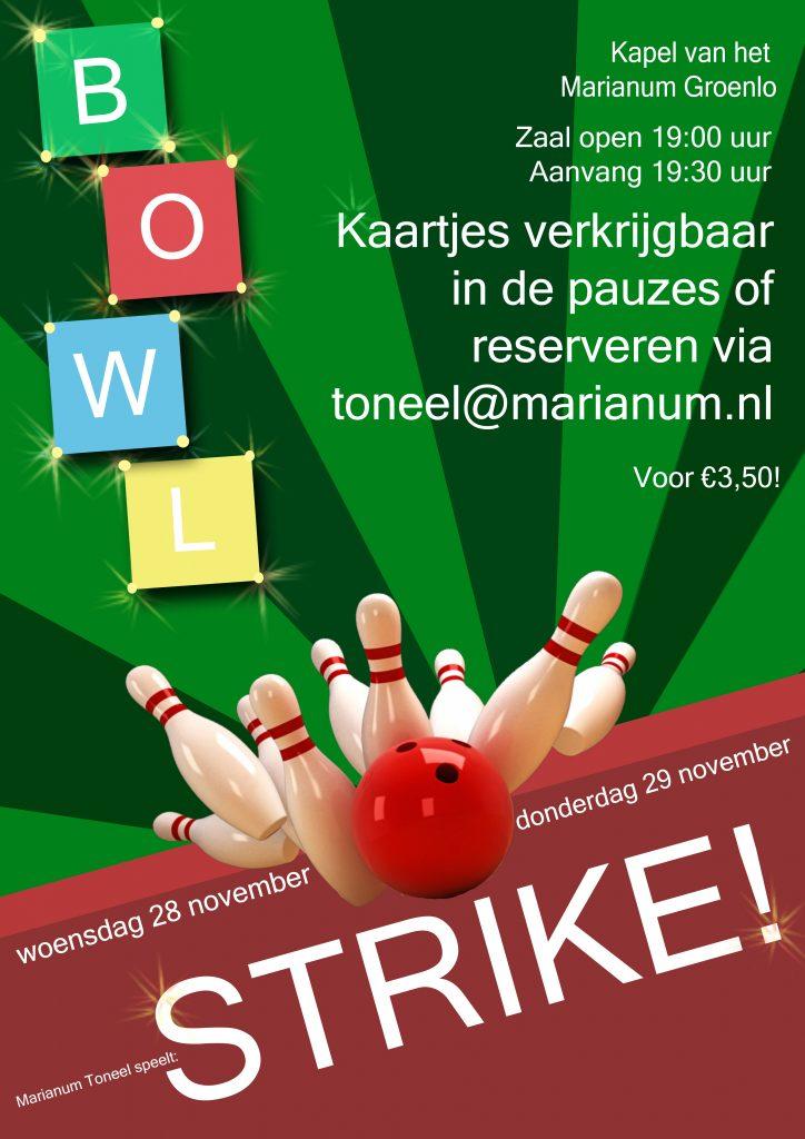 Toneelvoorstelling 'Strike!' – kaarten te koop!