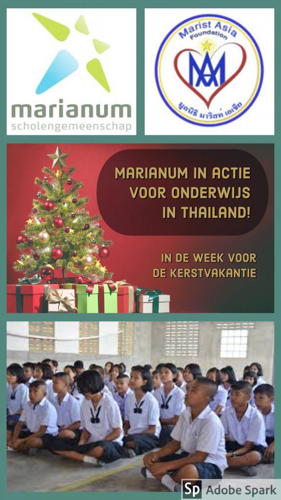 Marianum in actie voor school in Ranong