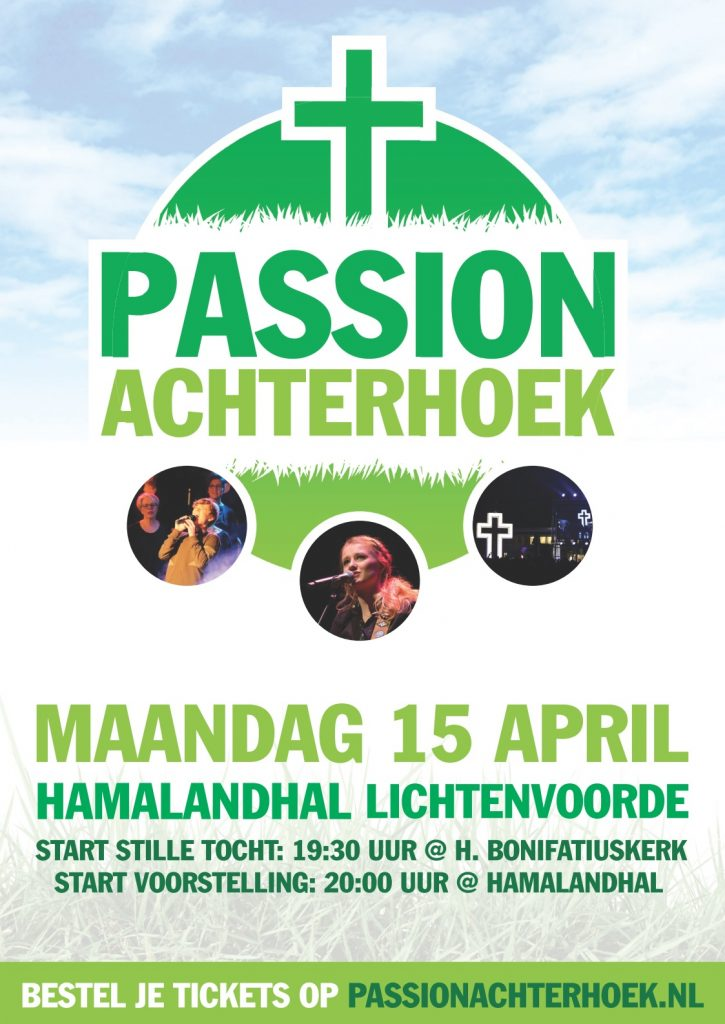Passion Achterhoek – maandag 15 april 2019 Hamalandhal
