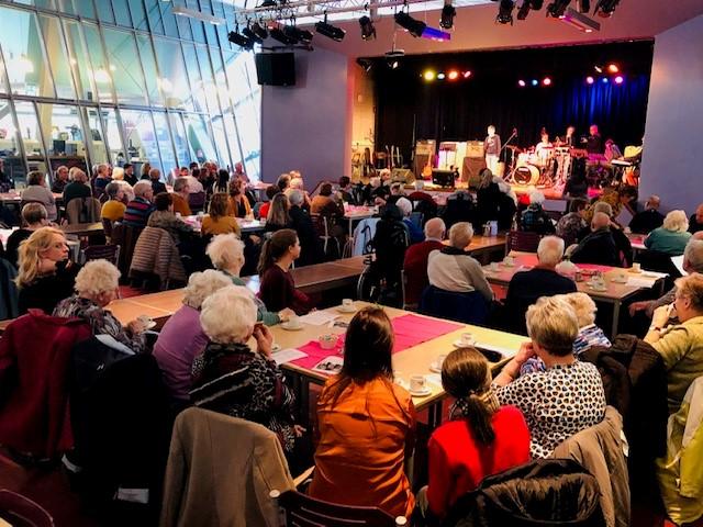 Concert 'Jong voor oud' Marianumleerlingen wederom groot succes!