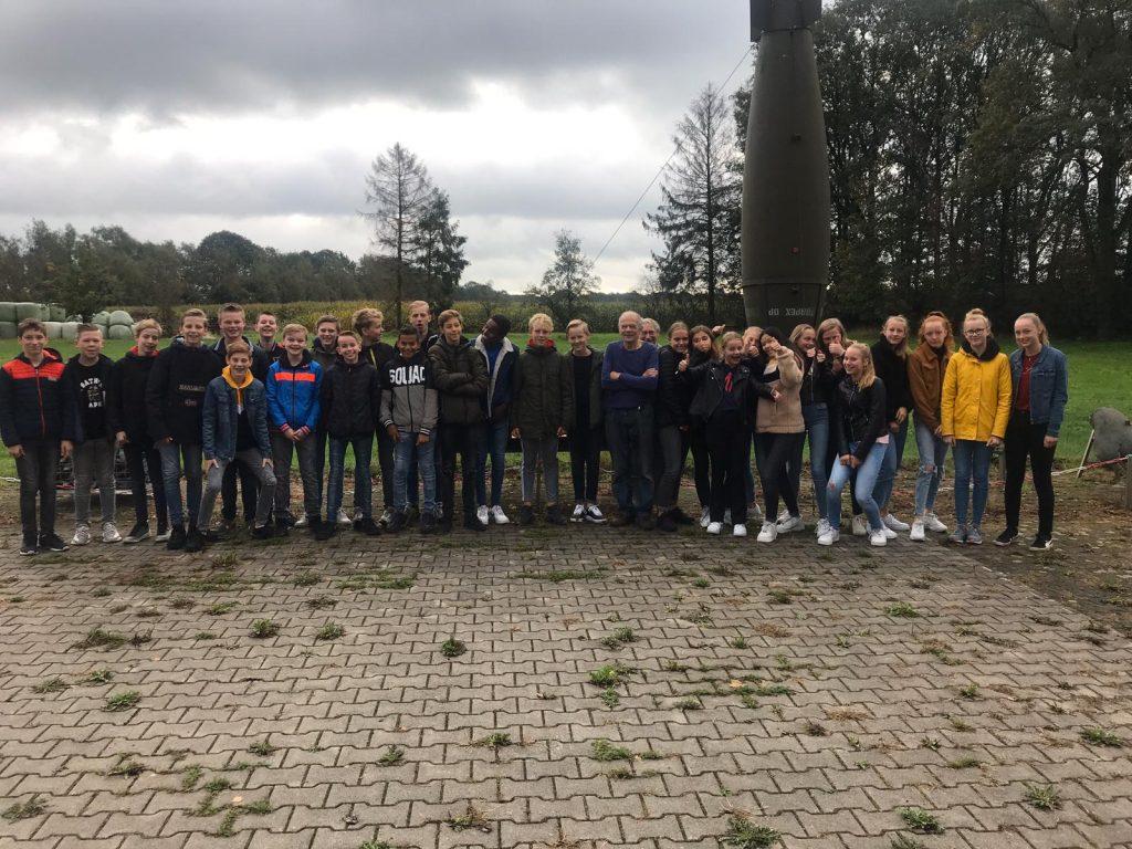 Leerlingen uit Lichtenvoorde leerjaar 2 naar CRASH museum