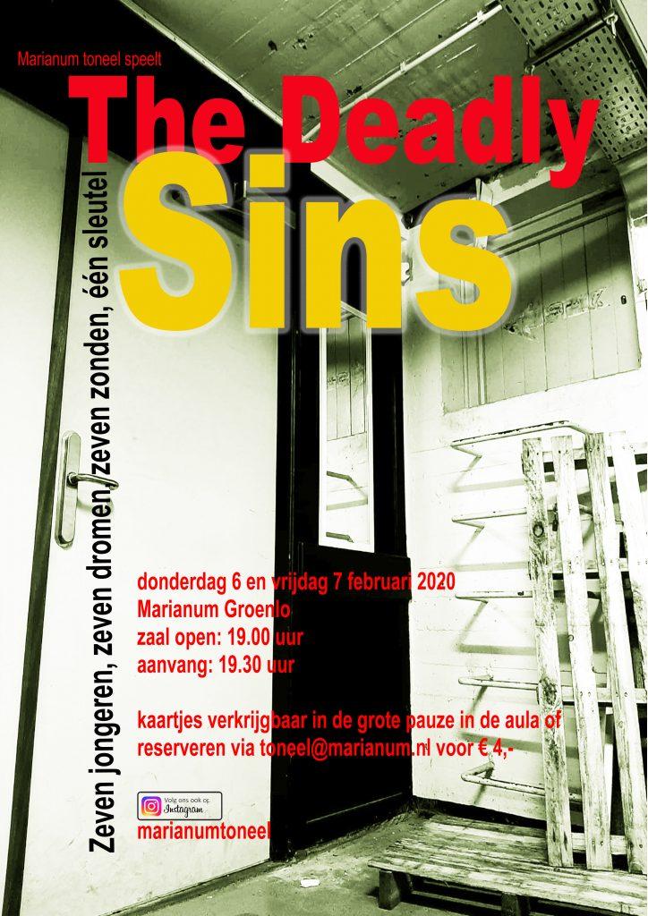 Marianum Toneel speelt 'The Deadly Sins'