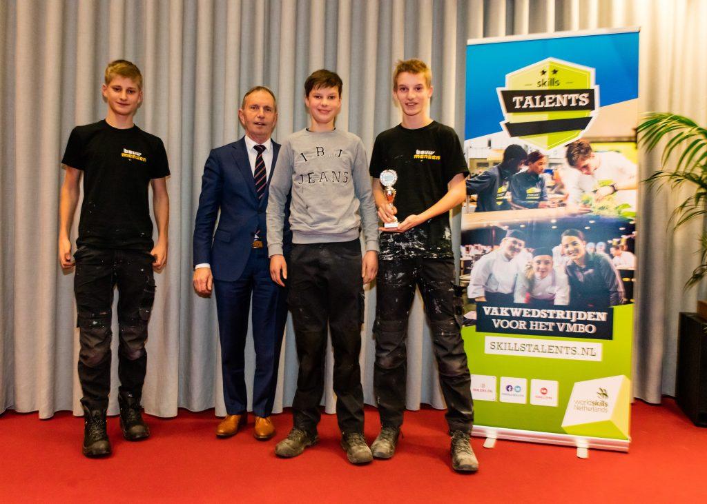 Leerlingen Marianum winnen regionale finale Skills Talents