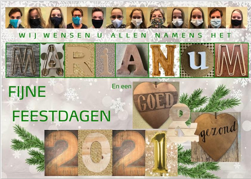 Marianum wenst iedereen fijne feestdagen!