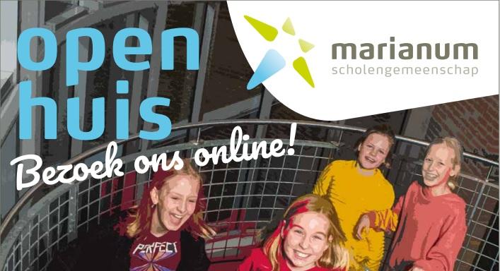 Open Huis Marianum – hier vind je alle informatie!
