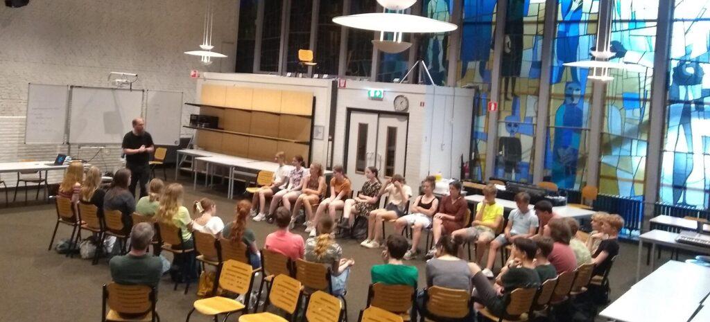 Gymnasiumleerlingen 'op excursie' in Groenlo