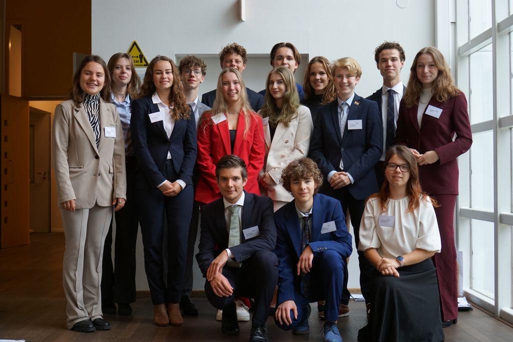 Leerling Marianum gekozen tot beste debater Model European Parliament